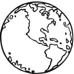 Free Printable Earth Coloring Pages For Kids | Stuff | Earth   Free Printable Earth Pictures