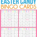 Free Printable Easter Bingo Cards For One Sweet Easter   Play Party Plan   Free Printable Games For Adults