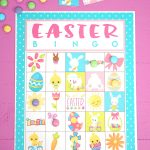 Free Printable Easter Bingo Game Cards   Happiness Is Homemade   Free Bingo Printable