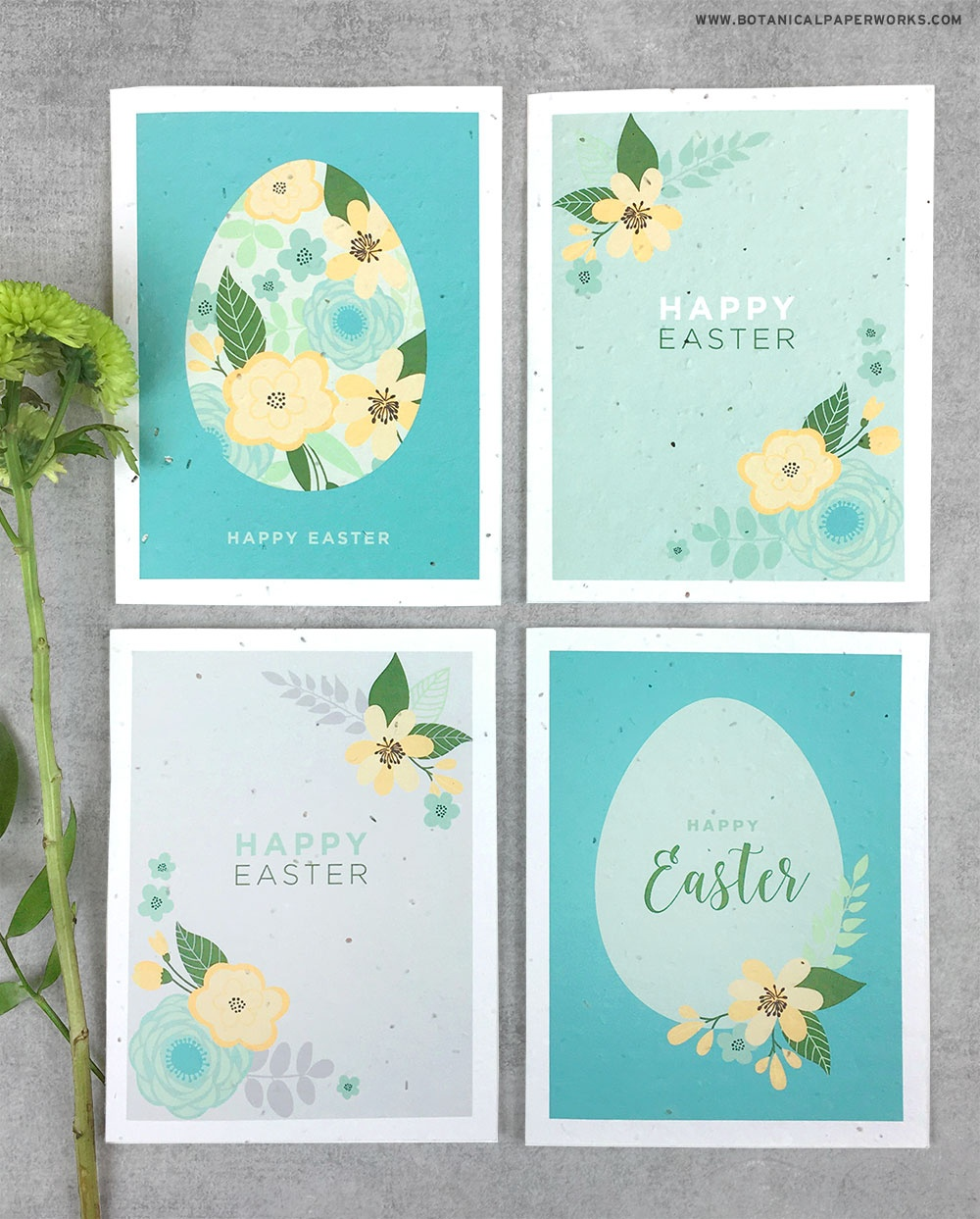Free Printable} Easter Cards | Blog | Botanical Paperworks - Free Printable Easter Cards