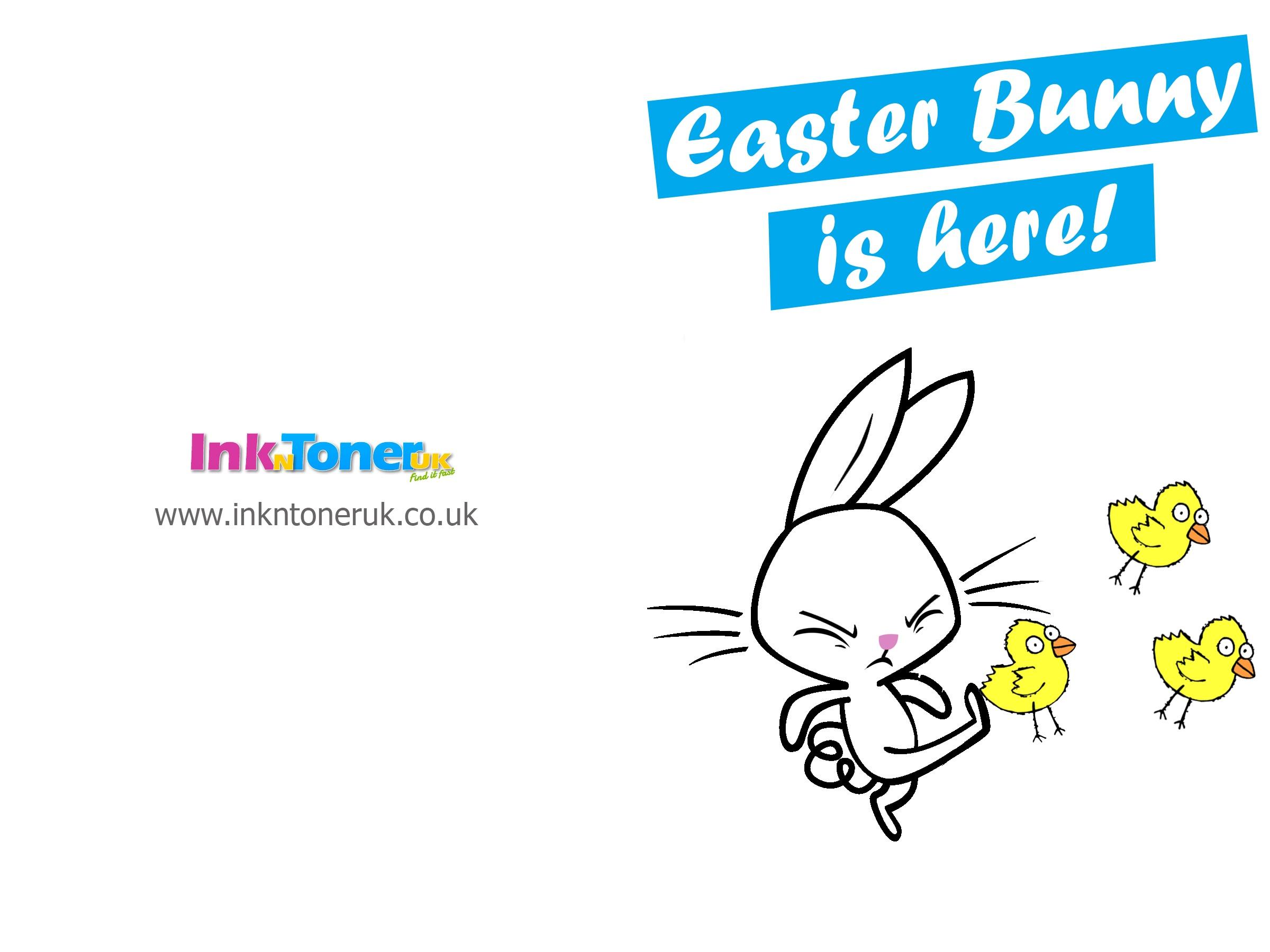 Free Printable Easter Cards | Inkntoneruk Blog - Free Printable Easter Cards