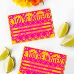Free Printable & Editable Papel Picado Mexican Wedding Invitation   Free Printable Fiesta Invitations