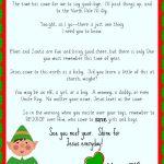 Free Printable Elf On The Shelf Goodbye Letter {Jesus Focused} | The   Elf On A Shelf Goodbye Letter Free Printable
