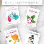 Free Printable Eos Lip Balm Christmas Gifts   Free Printable Eos Christmas Card