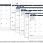 Free, Printable Excel Calendar Templates For 2019 & On | Smartsheet   Free Printable Out Of Service Sign
