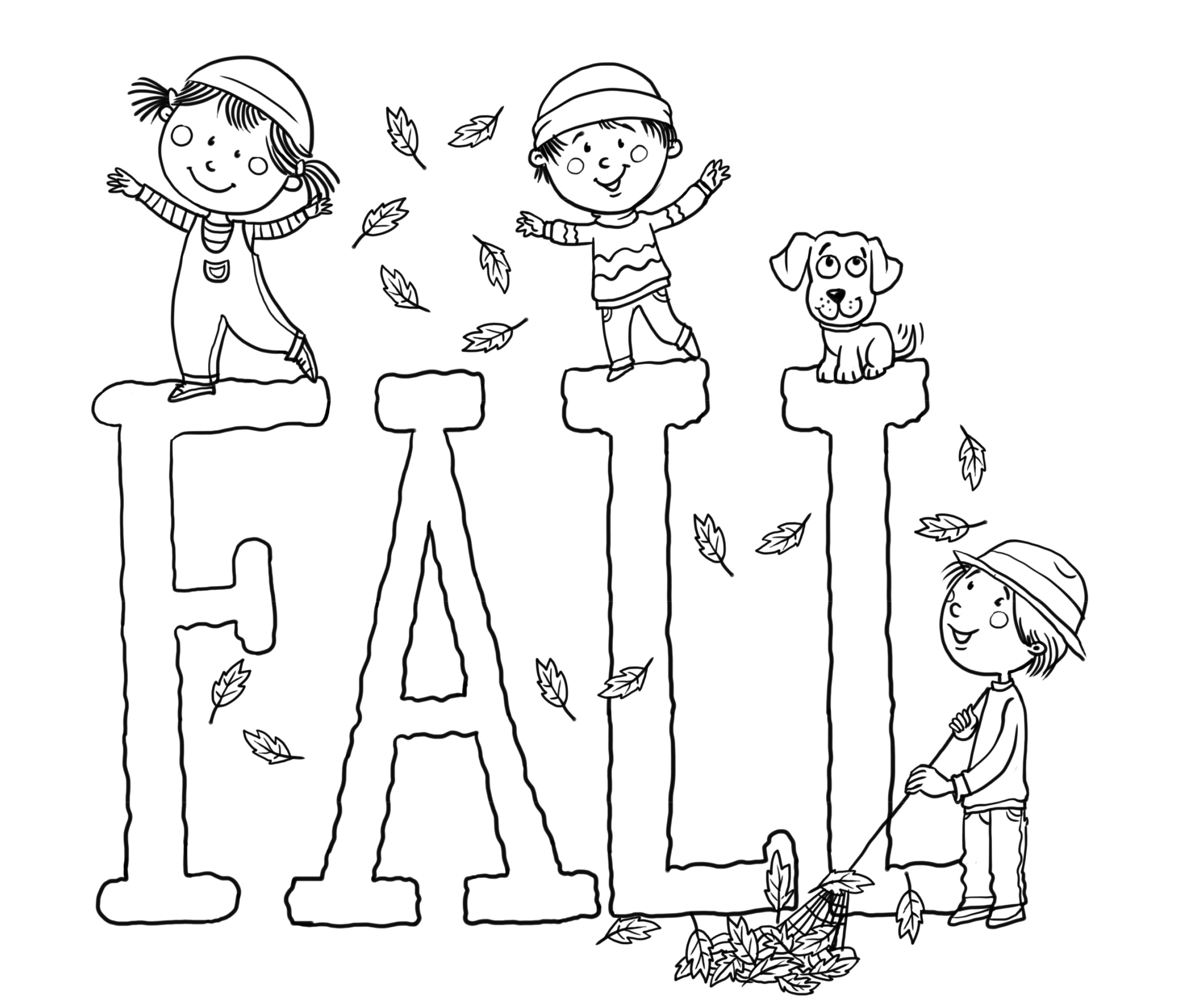 Free Printable Fall Coloring Pages For Kids - Best Coloring Pages - Free Printable Autumn Coloring Sheets