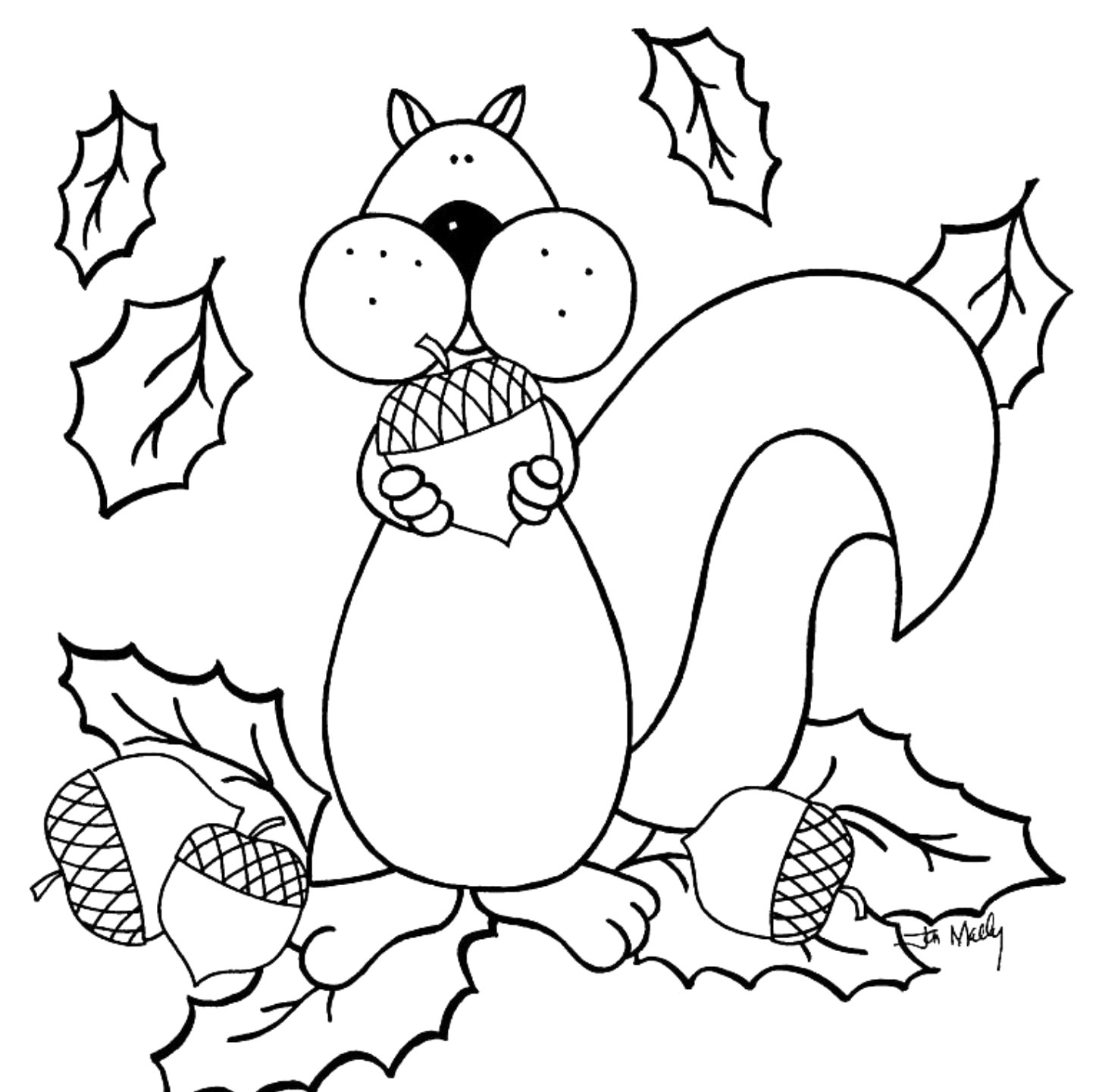 Free Printable Fall Coloring Pages For Kids - Best Coloring Pages - Free Printable Fall Coloring Pages