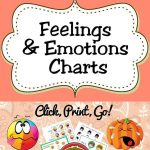 Free Printable Feelings & Emotions Charts For Kids | Behavior Charts   Free Printable Pictures Of Emotions