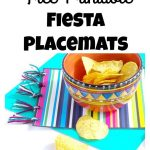 Free Printable Fiesta Placemat | Party Time! | Mexican Party   Free Printable Mexican Party Decorations