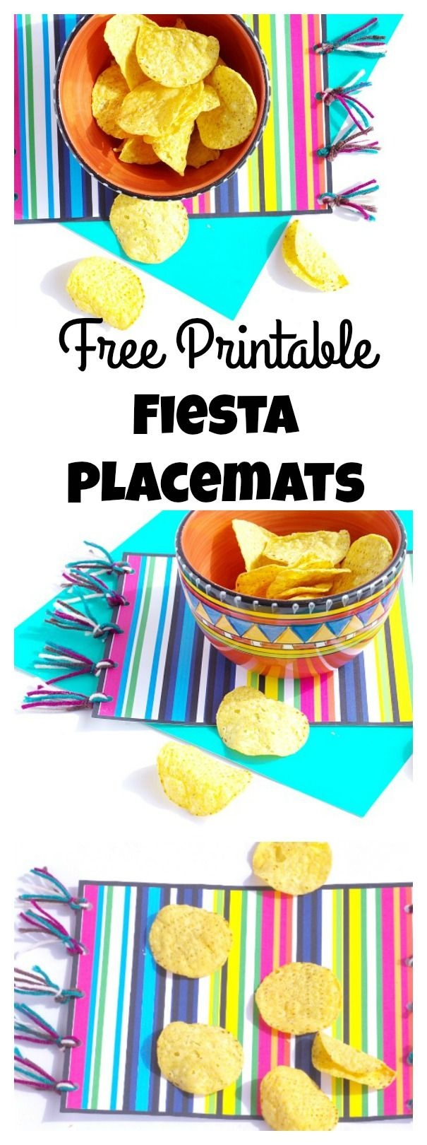 Free Printable Fiesta Placemat | Party Time! | Mexican Party - Free Printable Mexican Party Decorations