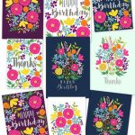 Free Printable Flower Greeting Cards   A Piece Of Rainbow   Free Printable Picture Cards