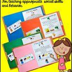 "Free, Printable ""folder Stories."" Simple One Page Social Stories   Free Printable Social Skills Activities Worksheets"