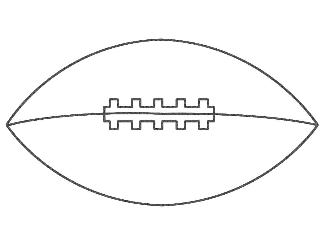 Free Printable Footballs, Download Free Clip Art, Free Clip Art On - Free Printable Football Cutouts