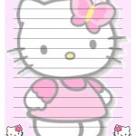 Free Printable For Pin The Bow On Hello Kitty! Description From   Free Printable Hello Kitty Stationery