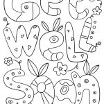 Free Printable Get Well Cards To Color 10 X Soon Coloring Pages 3   Free Printable Get Well Soon Cards
