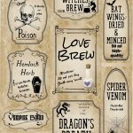 Free Printable Halloween Apothecary Labels: 16 Designs Plus Blanks!   Free Printable Potion Labels