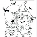 Free Printable Halloween Coloring Pages For Preschoolers With   Free Online Printable Halloween Coloring Pages