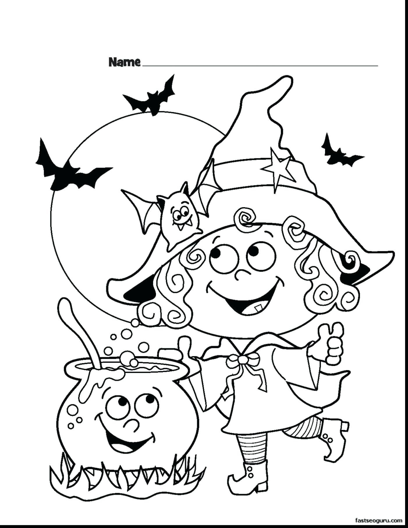 Free Printable Halloween Coloring Pages For Preschoolers With - Free Online Printable Halloween Coloring Pages