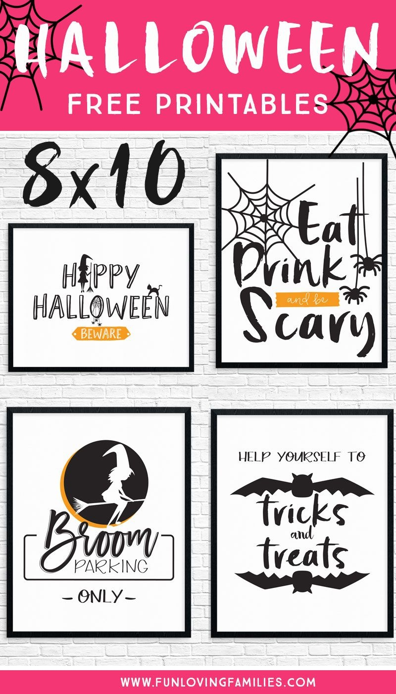 Free Printable Halloween Decorations To Spruce Up Your Holiday - Free Printable Halloween Party Decorations