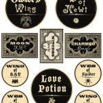 Free Printable Halloween Labels   Potions   The Graphics Fairy   Free Printable Potion Labels