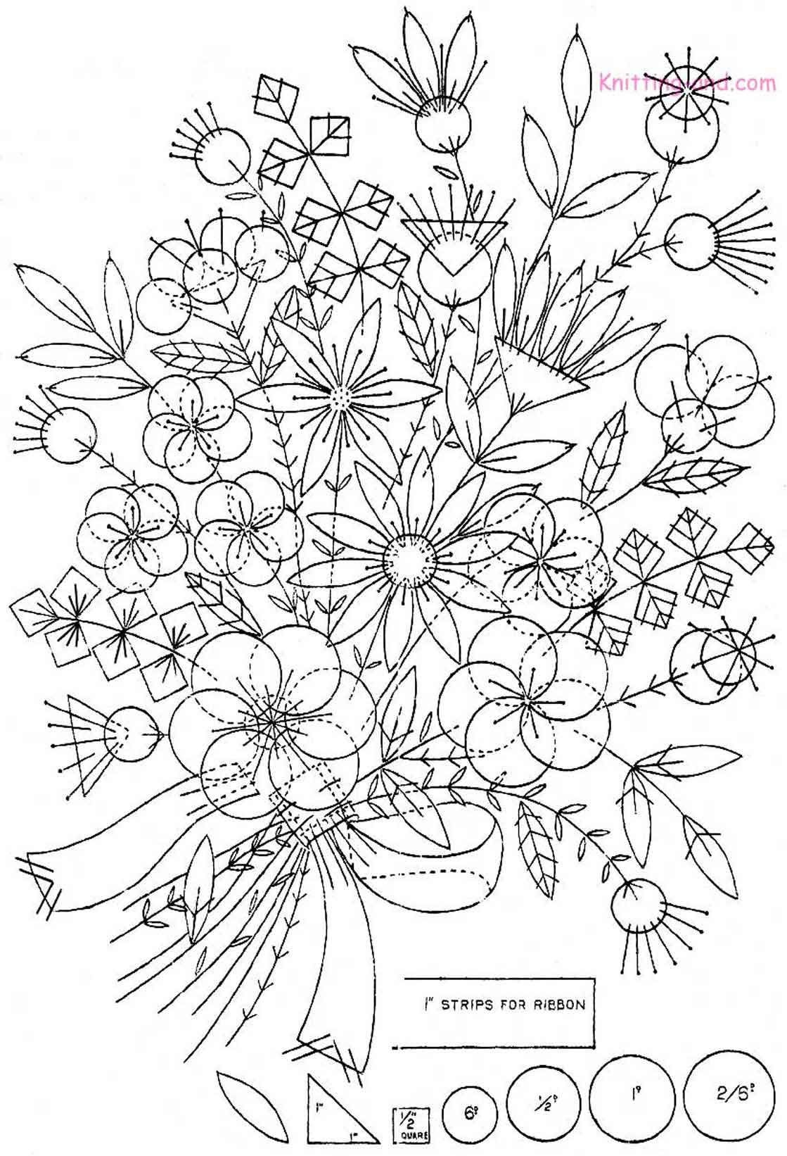 Free Printable Hand Embroidery Designs | Free Embroidery Pattern - Free Printable Embroidery Patterns