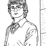 Free Printable Harry Potter Coloring Pages For Kids | Harry Potter   Free Printable Harry Potter Colouring Sheets