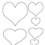 Free Printable Heart Template | Cupid Has A Heart On | Heart   Free Printable Pictures Of Cupid