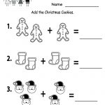 Free Printable Holiday Worksheets | Free Christmas Cookies Worksheet   Free Christmas Printables For Kids