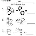Free Printable Holiday Worksheets | Free Printable Kindergarten   Free Printable Worksheets For Kindergarten Teachers