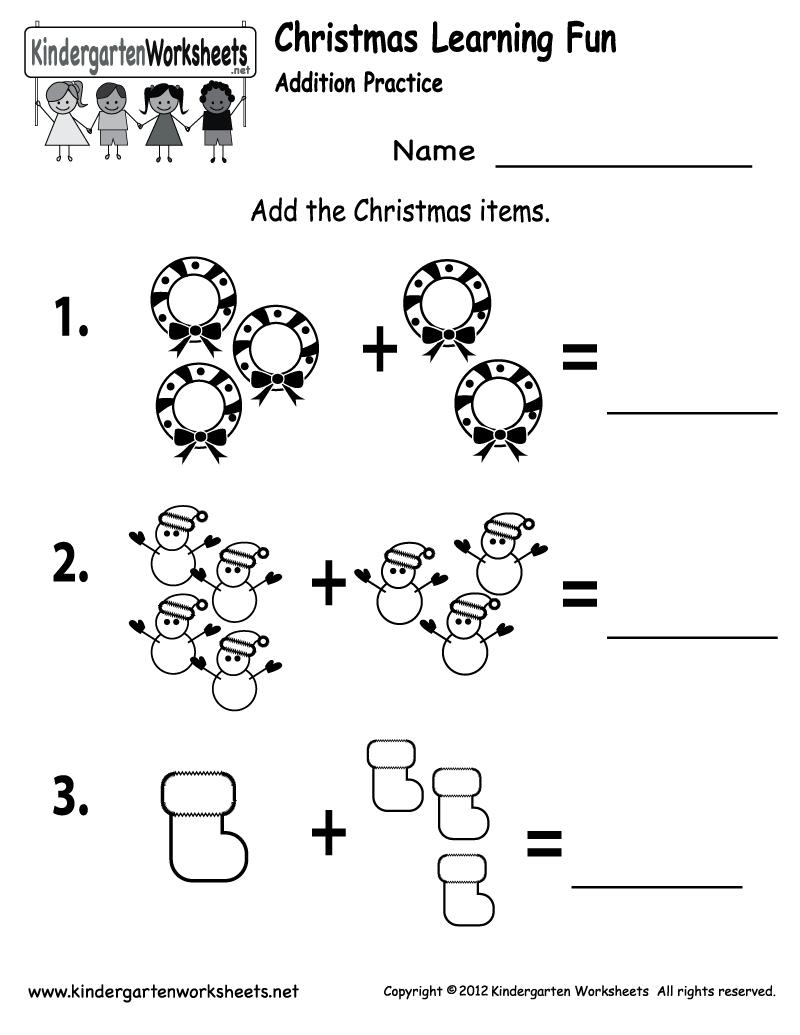 Free Printable Holiday Worksheets | Free Printable Kindergarten - Free Printable Worksheets For Kindergarten Teachers