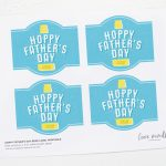 Free Printable! Hoppy Father's Day Beer Label   Free Beer Printables
