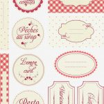Free Printable Jam Labels Is | Label Maker Ideas Information   Free Printable Jam Labels