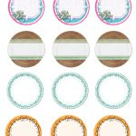 Free Printable Jar Labels. | Diy | Mason Jar Lids, Jar Lids, Canning   Free Printable Mason Jar Labels Template