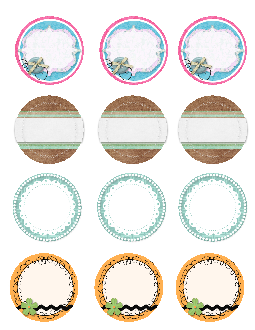 Free Printable Jar Labels. | Diy | Mason Jar Lids, Jar Lids, Canning - Free Printable Mason Jar Labels Template