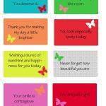 Free Printable Kindness Cards | Random Love | Kindness Projects   Free Printable Compliment Cards