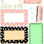 Free Printable Label Design Template Cakepins | Christmas Place   Free Printable Label Templates