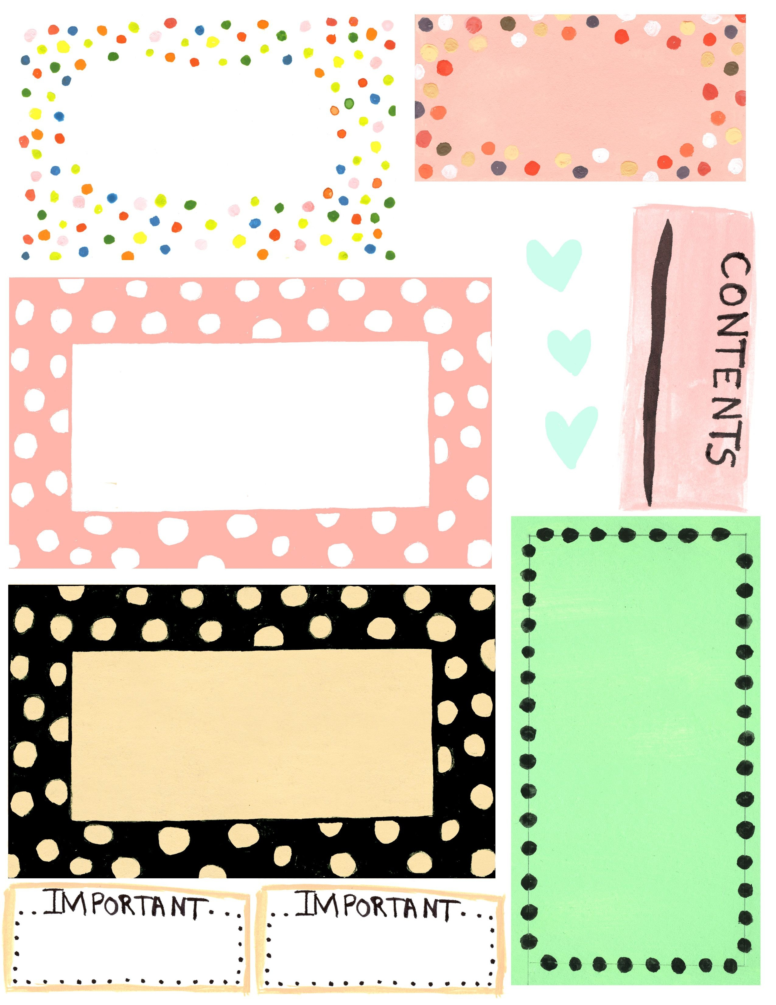 Free Printable Label Design Template Cakepins | Christmas Place - Free Printable Label Templates