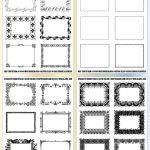 Free Printable Labels & Templates, Label Design @worldlabel Blog   Fancy Labels Printable Free