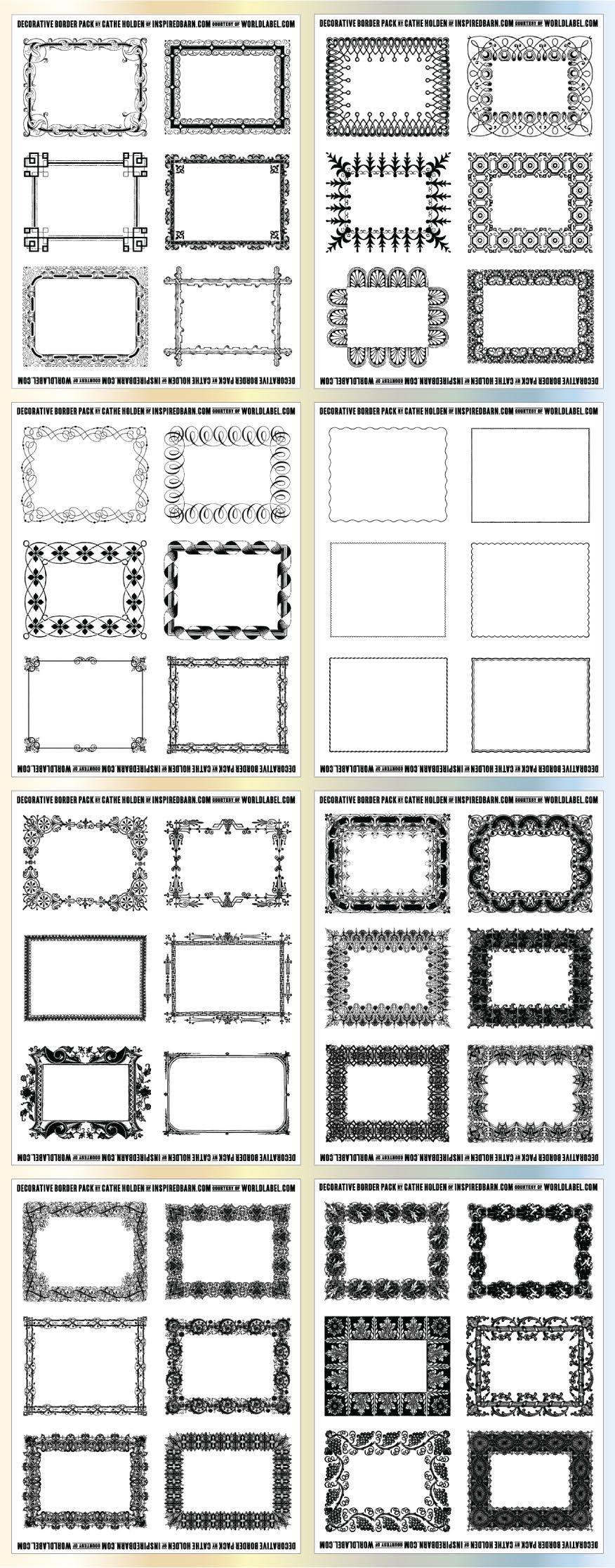 Free Printable Labels & Templates, Label Design @worldlabel Blog - Free Printable File Labels