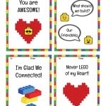 Free Printable Lego Valentine's Day Cards | Valentine's Day | Lego   Free Printable Ninjago Valentine Cards