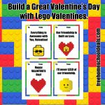 Free Printable Lego Valentines! (Instant Download) | Free Homeschool   Free Lego Printables