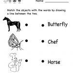 Free Printable Letter Worksheets Kindergarteners | Reading Worksheet   Free Printable English Reading Worksheets For Kindergarten