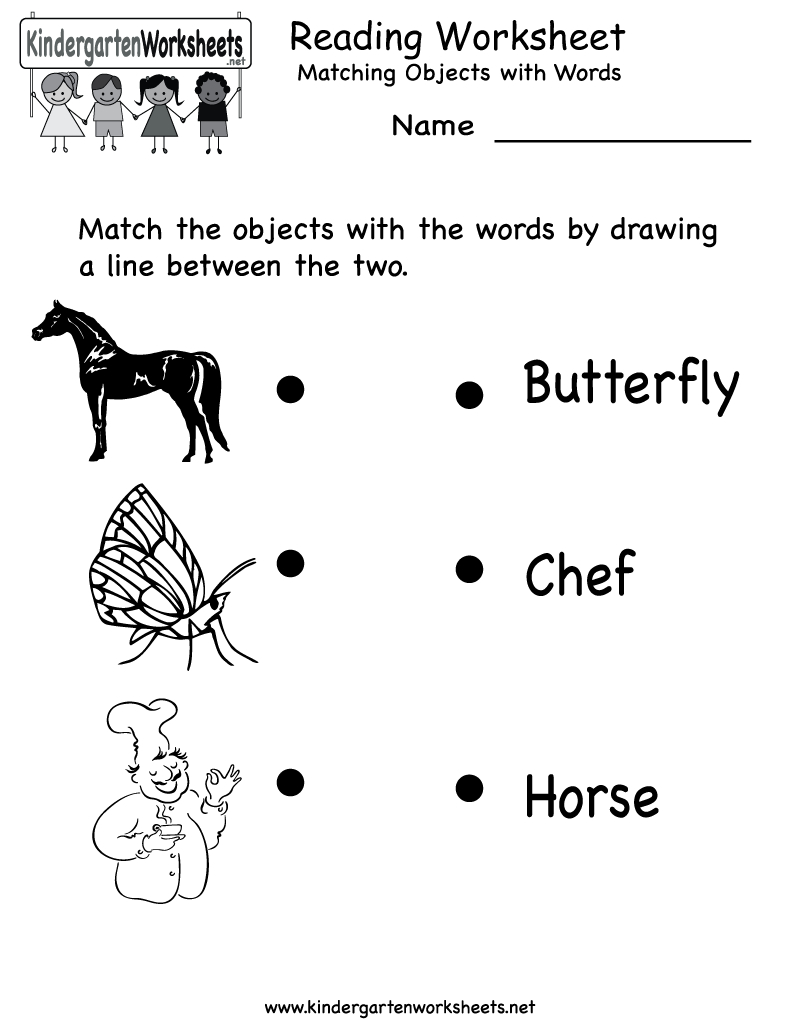 Free Printable Letter Worksheets Kindergarteners | Reading Worksheet - Free Printable Name Worksheets For Kindergarten
