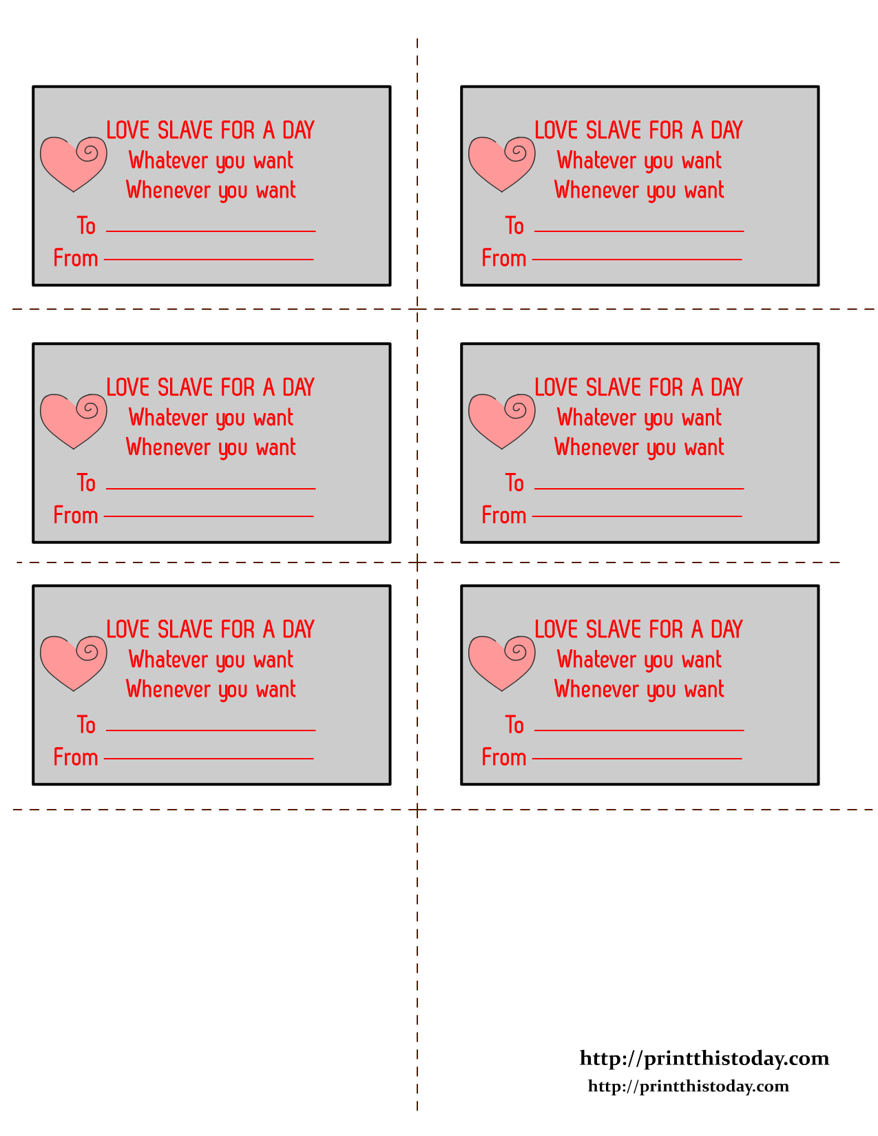 Free Printable Love Coupons For Candlelit Bath | Free Printables For - Free Printable Kinky Coupons For Him