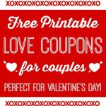 Free Printable Love Coupons For Couples On Valentine's Day! | Blog   Free Printable Kinky Coupons For Him