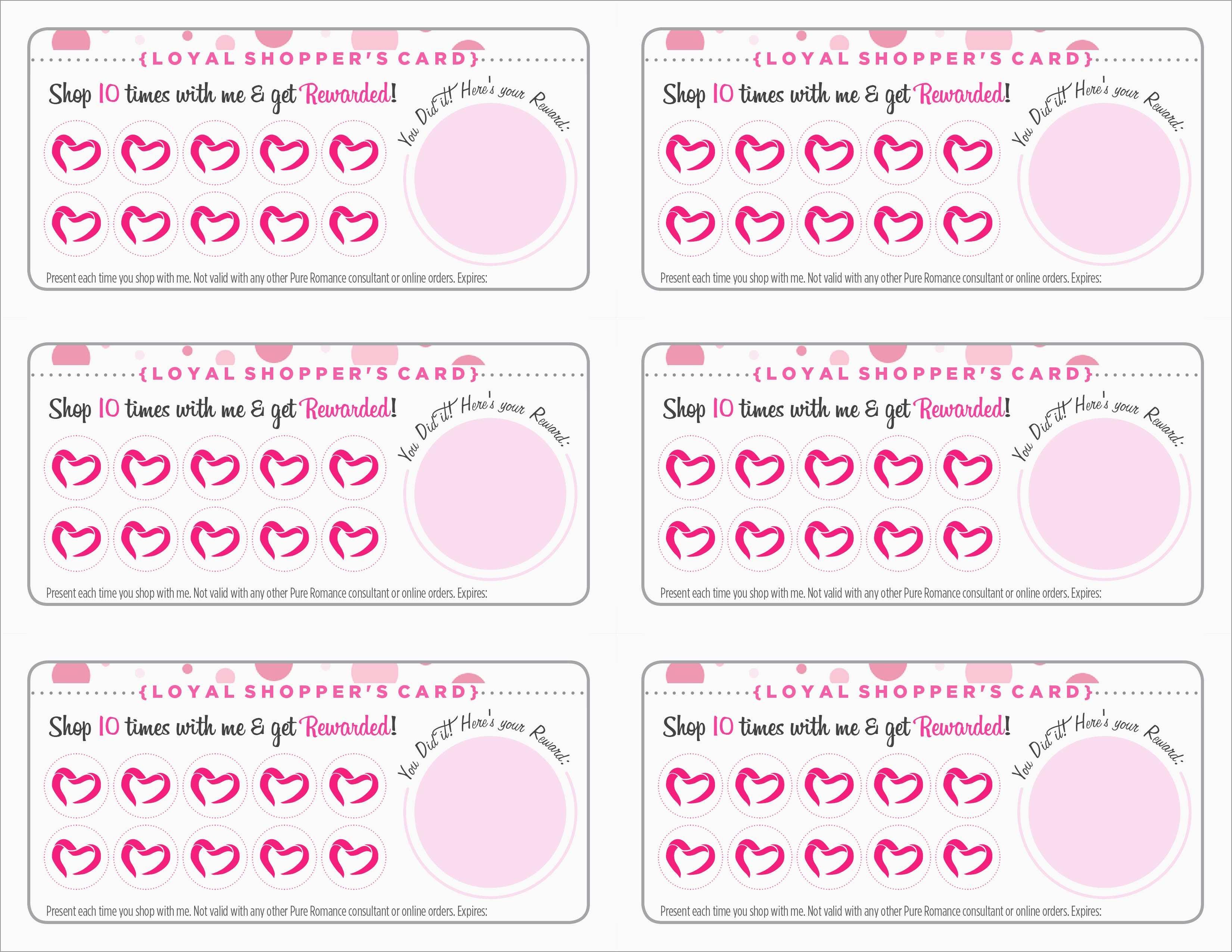 Free Printable Loyalty Card Template Fabulous 10 1 Free Punch Card - Free Printable Loyalty Card Template