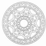 Free Printable Mandala Coloring Pages For Adults Image 18   Free Printable Mandala Coloring Pages For Adults