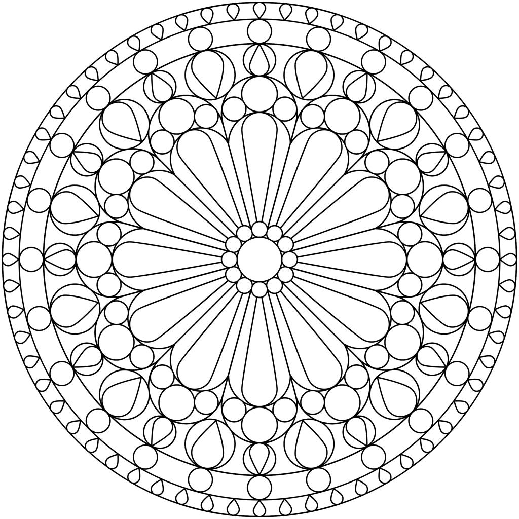 Free Printable Mandala Coloring Pages | Free-Mandala-Coloring-Pages - Free Printable Mandalas