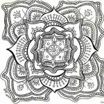 Free Printable Mandalas Coloring Mandala Pages For Adults 5F To   Free Mandalas To Colour In Printable
