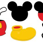 Free Printable Mickey Mouse Head, Download Free Clip Art, Free Clip   Free Printable Mickey Mouse Template